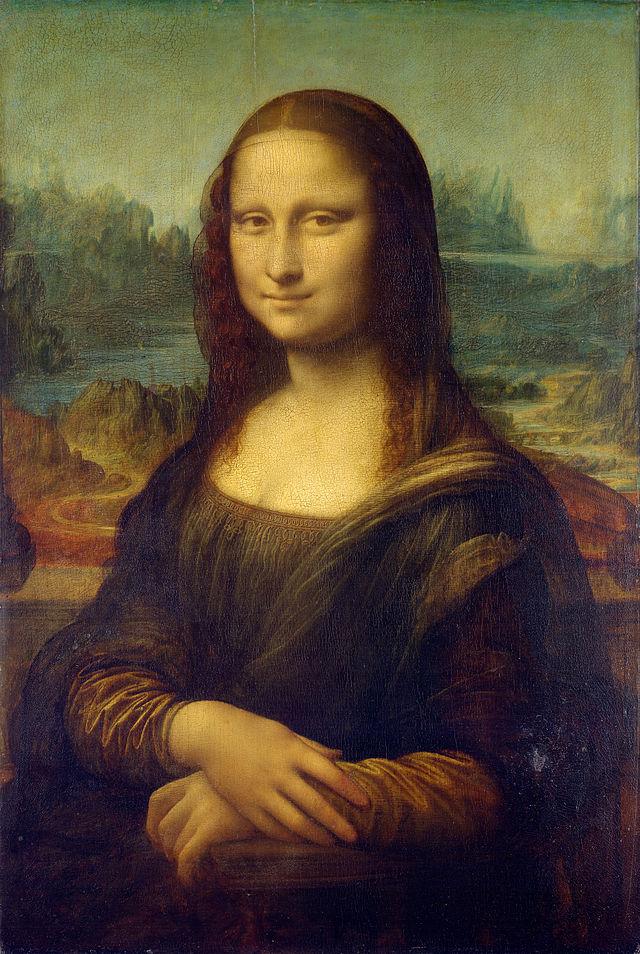 Leonardo da Vinci - Monna Lisa (La Gioconda) - Louvre - Paris